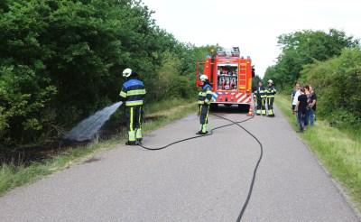 Boxtelse brandweer druk met buitenbranden