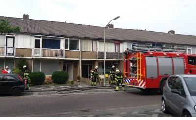 Vlam in de pan in Van Beekstraat