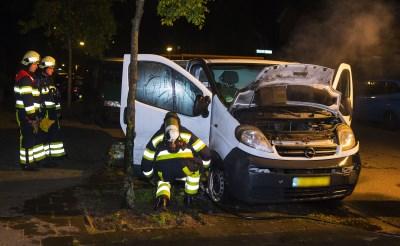 Bestelbus doelwit van brandstichting in Boxtel