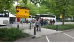 Drukte op NS-station Boxtel