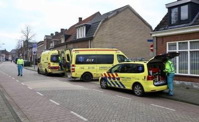 5 ambulances en brandweer met spoed naar Molenstraat