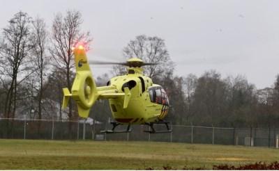 Traumahelikopter naar gildeterrein Essche Heike