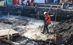 Markt blijkt rijk aan archeologische overblijfselen