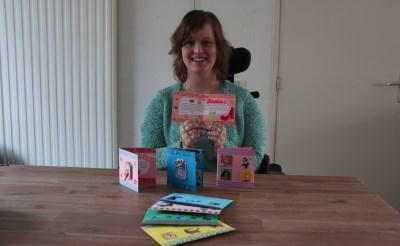 Boxtelse stuurt chronisch zieken zelfgemaakte kaarten