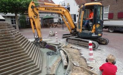 Nog geen nieuwe locatie voor fontein