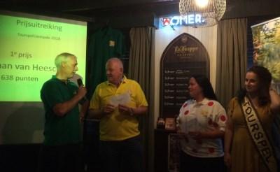 Tourspel: 3.000 euro voor Zonnebloem