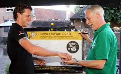 Koen de Kort zet zichzelf op de 87e plek in de Tour de France