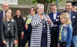 Burgemeester Zwijnenburg zwaait af