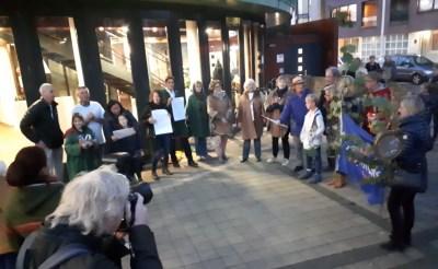 Natuurliefhebbers protesteren tegen bezuiniging