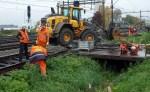 Parallelweg Zuid weer op slot voor werk aan spoor