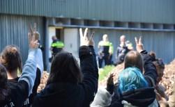 Activisten al eerder op bezoek bij varkensstal