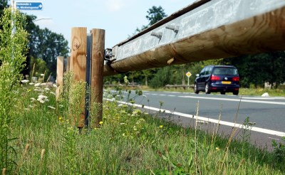 'Vangrails N618 vormen een gevaar voor motorrijders'