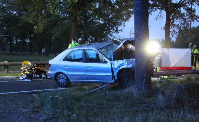 Twee doden bij ongeval N618 tussen Boxtel en Schijndel
