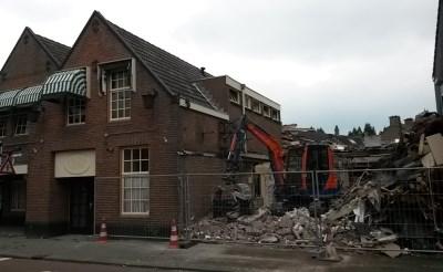 Sloop laagbouw vroegere café De Adelaar begonnen