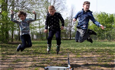 Oranjefonds steunt skatebaan Liempde