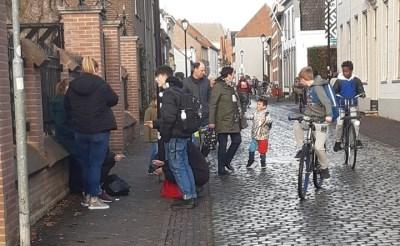 'Kinderen in de rook bij Sint-Lucas'