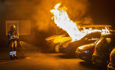 Politie sluit brandstichting Baandervrouwenlaan niet uit