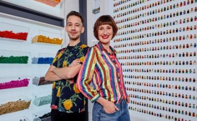 Jan en Lola winnen Legomasters