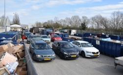 Milieustraat in Boxtel gaat weer open