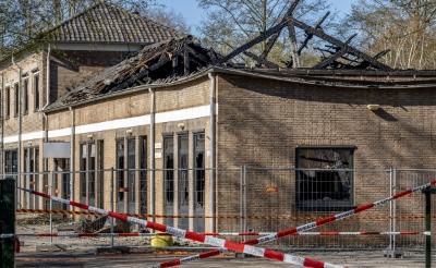 Beelden brandstichting De La Salle op televisie