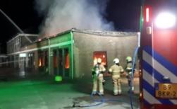 Brand bij De La Salle