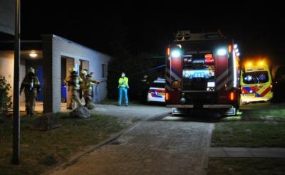 Brand op terrein De La Salle snel geblust