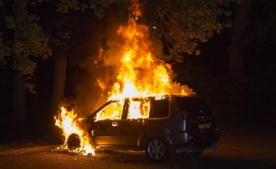 Opnieuw autobrand in Boxtel