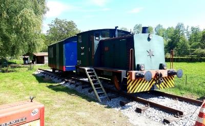 Rangeerloc & wagon op Kasteren