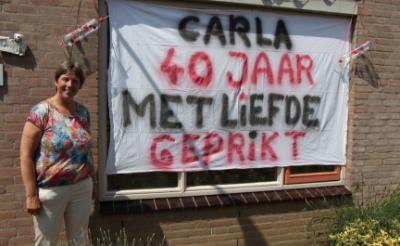 Carla van der Ven prikt al veertig jaar met liefde