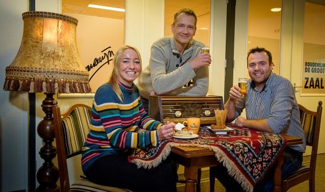 V.l.n.r.: Roos Postulart, Jan Heida en Niels Gijsbers.