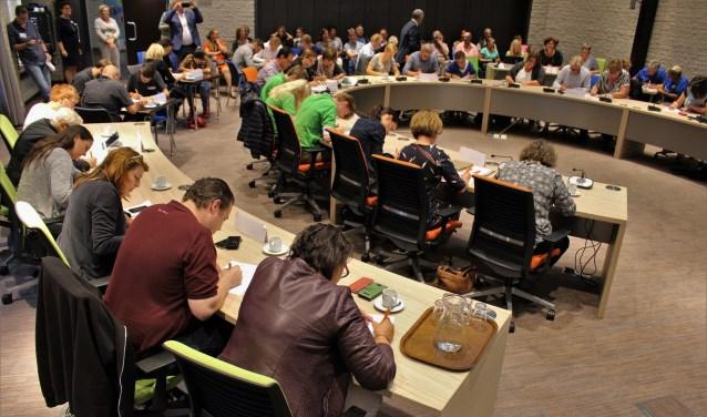 De voorronde van de Grote DigiTaalStrijd 2017 in Beneden-Leeuwen.