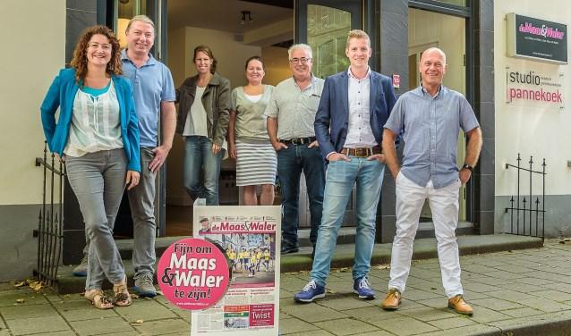 V.l.n.r.: Chantal, Jeroen, Aafke, Sabrina, Bert, Ruben en Ruud.