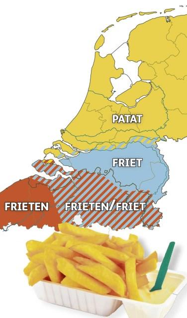 Naar kaart 'Patates Frites' - Jan Stroop.