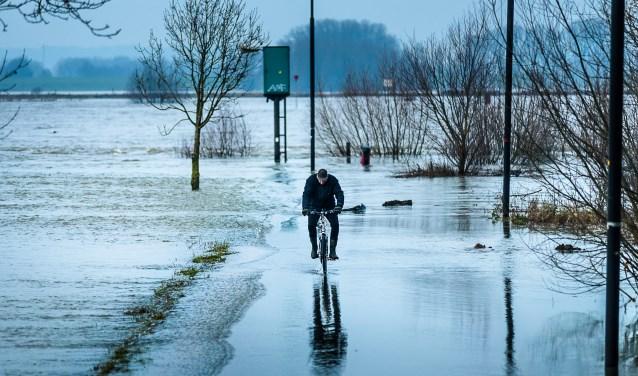 Een van de genomineerde foto's van John van Gelder uit de Maas&Waler.