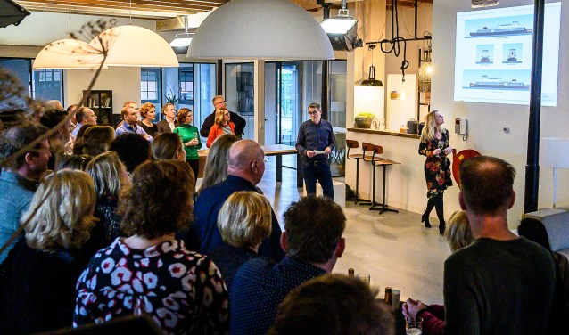 Presentatie van de plannen voor De Veerdam.