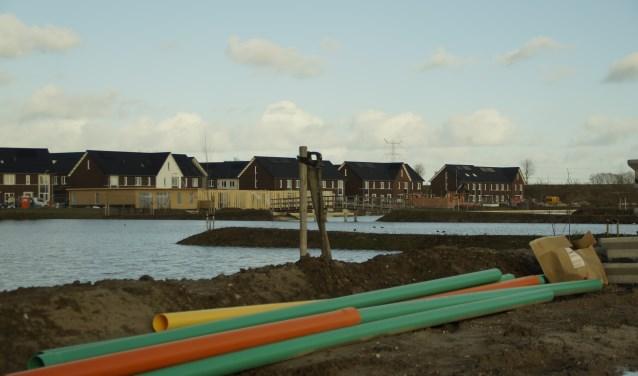 Nieuwbouwwijk Tichelande in Afferden met veel 'openbaar groen'.