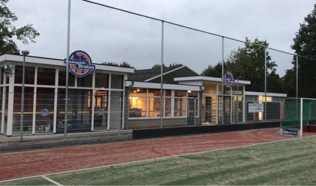 Het nieuwe clubhuis van Hockeyclub Druten.