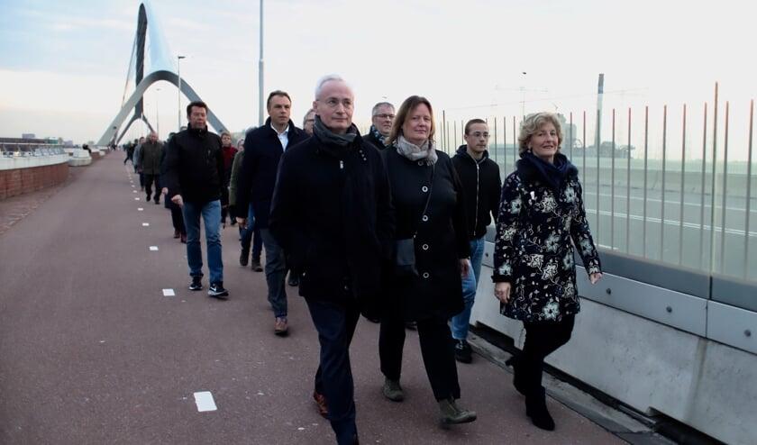 Hans Verheijen, Daphne Bergman en Corry Rhee-Oud Ammerveld.