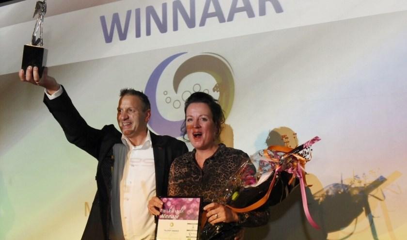 Marien en Hannie Verhaaf, winnaars Rabobank Talent Award 2018