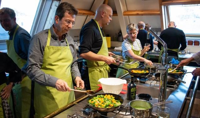 Workshop gastronomie, gezondheid en beweging bij versspecialist Tijssen.