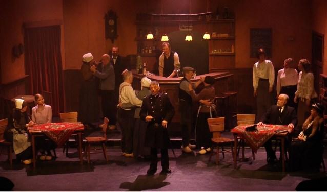 Een scène uit de voorstelling Leste Snert.
