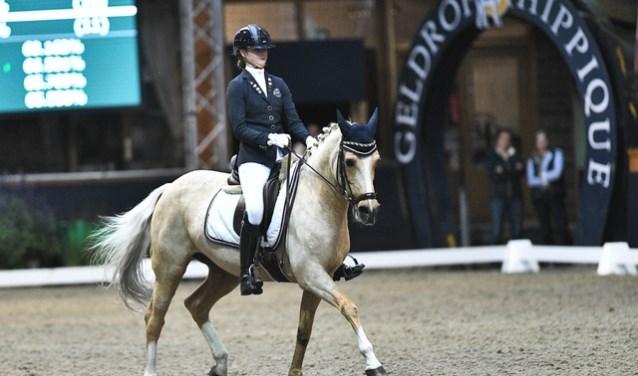Frederique van Zeeland tijdens haar wedstrijd  | Fotonummer: 41c898