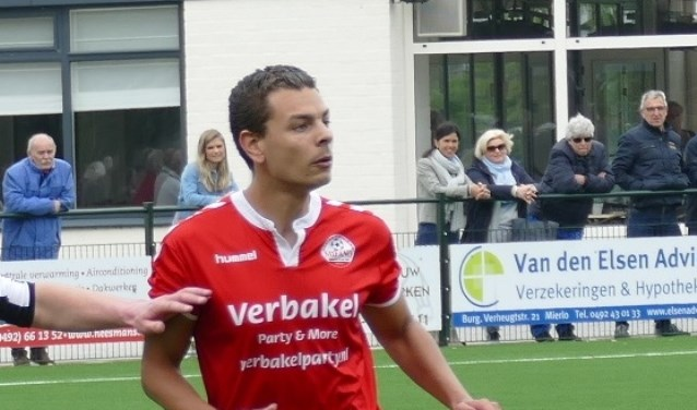 Maurice van Hoof scoorde het winnende doelpunt  | Fotonummer: 05c929