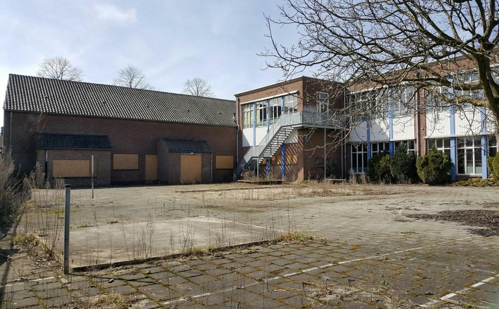 Acherzijde van de Johannesschool Foto: Ingrid Machiels © deMooigeldropmierlokrant
