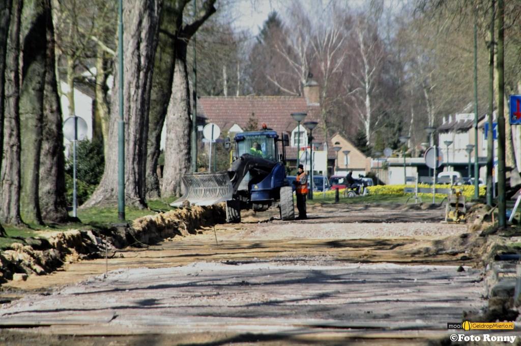 Werkzaamheden Willem Barentszweg Geldrop  © deMooigeldropmierlokrant