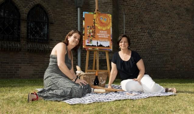 Margot van der Wielen (l) en Manuela Brouwers (r)    Fotonummer: 43a380