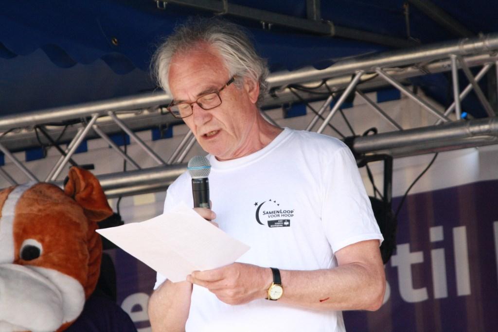 Voorzitter René van Eck Foto: Ronny Bron © deMooigeldropmierlokrant