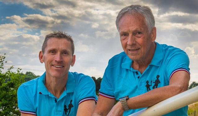 Nico van Dijck (l) en Theo van den Berg (r)  | Fotonummer: 0093b8