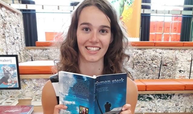 Lisa van Gerven tijdens haar boekpresentatie 'Samen sterk'  | Fotonummer: 92d60c