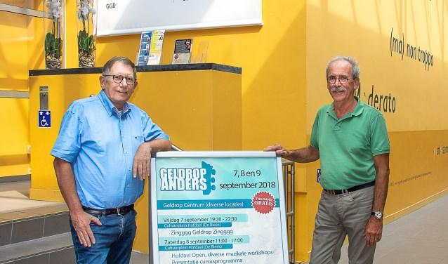Frans Thijssen (l) en Peter Scholts (r)    Fotonummer: a9c475